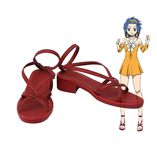 Bromeo Fairy Tail Levy McGarden Cosplay Schuhe