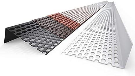 BWK L/üftungsprofil PVC 30//50 Farbe Rot