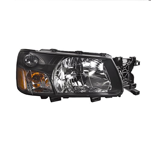 Headlights Depot Replacement for Subaru Forester Headlight Oe Style Headlamp Right Passenger (Subaru Forester Headlight Headlamp)