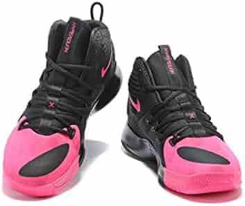 2406c0babf3f songmingjun Men s Basketball Shoe Black Pink Blast Hyperdunk X Kay-Yow