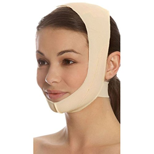 Marena Recovery Chin strap, mid-neck coverage, Beige, S (Neck System And Head Lymphatic)