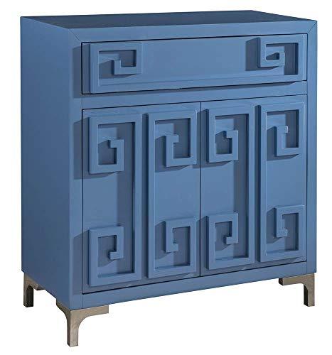 Pulaski Accent Wine Cabinet in Blue ()