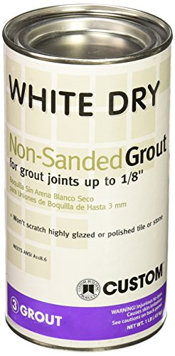 Custom Building Product WDG1 1lb White Non-Sanded Tile Grout