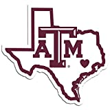 NCAA Texas A&M Aggies Home State Decal, 5'