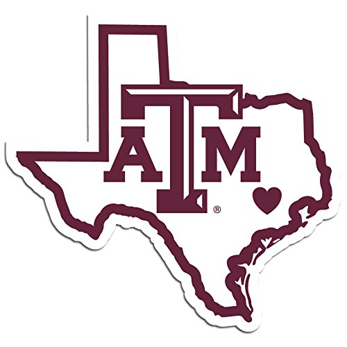 NCAA Texas A&M Aggies Home State Decal, ()