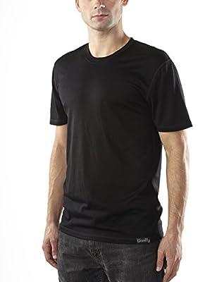 Woolly Clothing Co. Men's Merino Wool Short Sleeve Crew Neck (190 GSM)