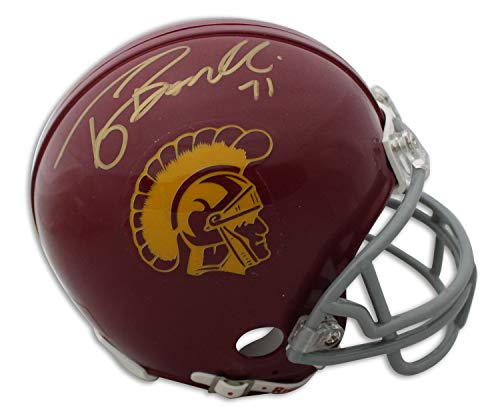(Tony Boselli USC Trojans Autographed Riddell Replica Mini Helmet - Certified Authentic Signature)