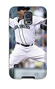 Hot seattle mariners MLB Sports & Colleges best Samsung Galaxy S5 cases 5065096K801942078