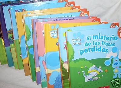 Spanish Children's Books, Blue's Clues, Dora, Go Diego, Backyardigans, Lazy Towns LOT of 20 Assorted (Lazytown Nick Jr)