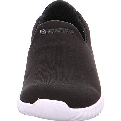 KangaROOS 39030 - Mocasines para mujer negro