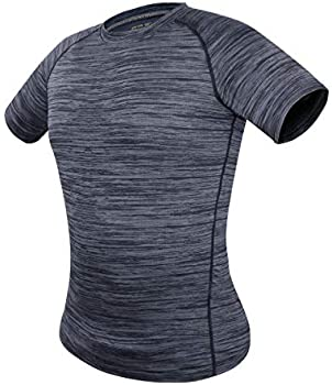 Trysil Workout Round Collar Sports Short Quick Dry Men's T-Shirt