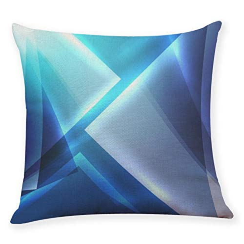 (Littay Pillowcase Geometric Pillow Case Waist Cushion Cover Sofa Home)