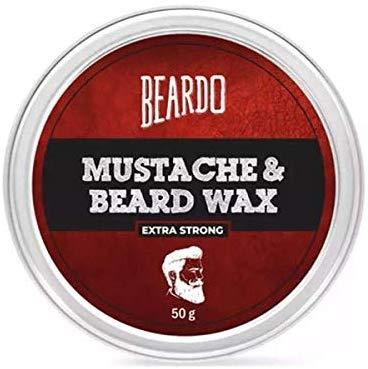 BEARDO BEARD MUSTACHE WAX- EXTRA STRONG 50g