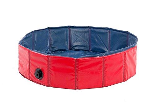 Karlie Flamingo Hunde-Pool, Ø 160 cm, rot/blau