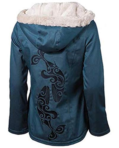 Sea Shepherd - Ladies Classic Hoodlamb Coat - S (Ocean Blue)