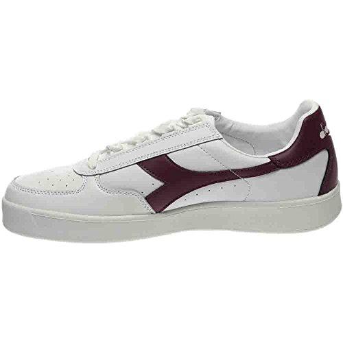 Diadora White B Men's III Shoe Elite Court L Amaranth 0w0d6r5q