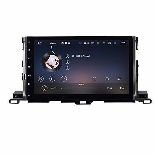 BoCID Quad Core 10.1'' Android 7.1 Car DVD Player for Toyota Highlander 2015 With 2GB RAM Radio GPS WIFI Bluetooth USB DVR 16GB ROM by BoCID (Image #3)