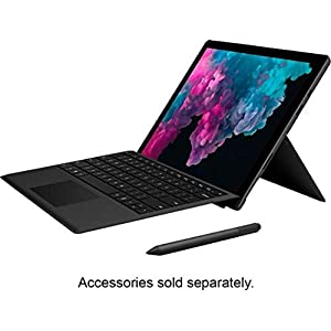 Microsoft Surface Pro 6 12.3 Inch Tablet – (Black) (Intel 8th Gen Core i5, 8 GB RAM, 256 GB SSD, Intel UHD Graphics 620, Windows 10 Home)