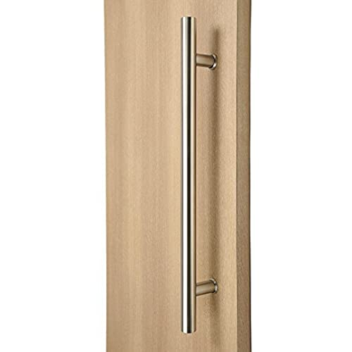 Modern U0026 Contemporary Round Bar / Ladder / H Shape Style 914mm / 36 Inches  Push Pull Stainless Steel Door Handle   Satin Brushed Finish
