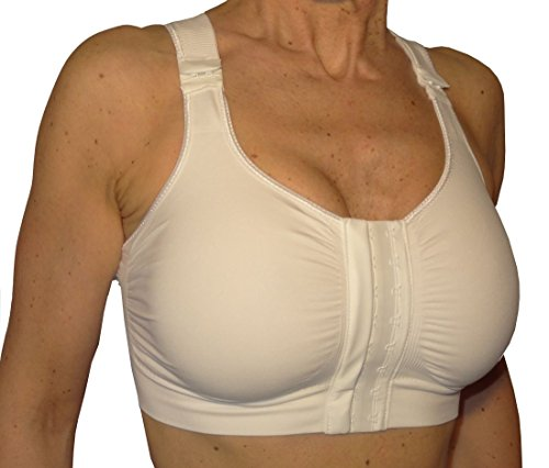 Post-op bra after breast enlargement or reduction - White size 2XL