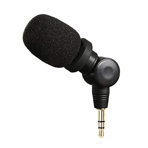 Saramonic SR-XM1 Omnidirectional Microphone Plug and Play Mic Compatible with DSLR Cameras, Camcorders, Smartphone, Gopro, for Vlogging, YouTube, Recording