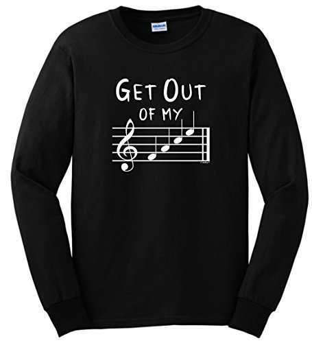 Funny Music Musical Sleeve T Shirt