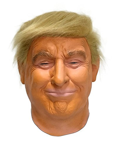 GN Netcom Realistic Donald Trump Mask Republican Presidential Candidate Head Face Mask POTUS