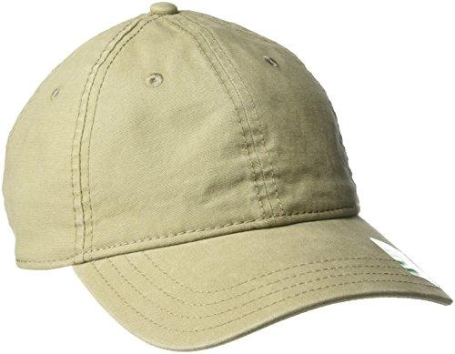 prAna Bronson Logo Ball Cap, Dark Khaki, One Size Khaki Logo Cap