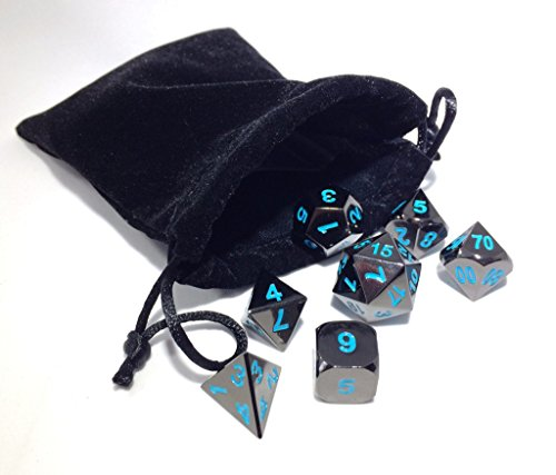 d and d metal dice set - 1