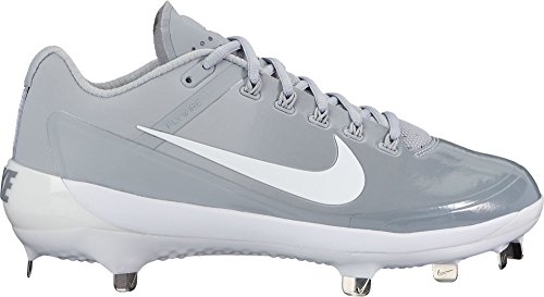 Nike Mens Air Clipper 17 Metal Baseball Cleats (Grey/White, 11.5 D(M) US)