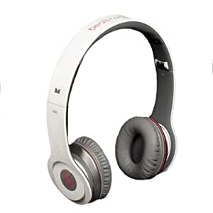 Beats by Dr. Dre Solo White On-Ear Headphones with ControlTalk (Discontinued by Manufacturer)