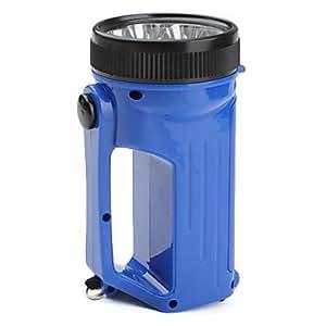 Camping 2-Mode 12-LED Latern Flashlight (3xAA, Blue)