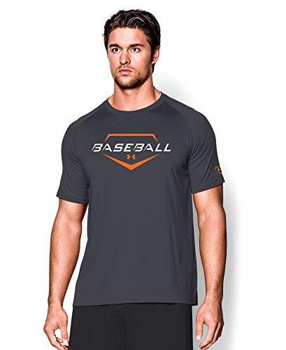 Under Armour Men's UA Baseball Wordmark T-Shirt Medium Lead
