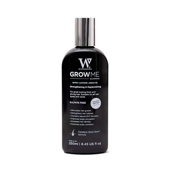 Best Hair Growth Shampoo Sulfate Free, Caffeine, Biotin, Argan Oil & more, DHT Blocking Shampoo to Stimulates Hair growth,Can Help Stop Hair Loss, Grow Hair Fast for Women & Men