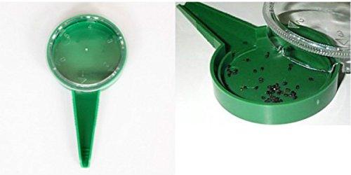Adjustable Size 5 Different Settings Disseminator Sower Planter Starter Seeder sow gardening tools