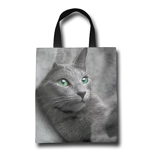 Green Eyes Cat Reusable Shopping Bag, For Farmers Markets, Grocery Shopping, Crafts, Travel, Sewing & Everyday - My Eyeglasses Best Face For