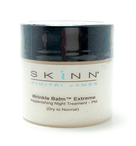 Skinn Wrinkle Balm Extreme Replenishing Night Treatment Pm (Dry to Normal) 2 Oz
