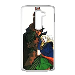 Record of Lodoss War LG G2 Cell Phone Case White