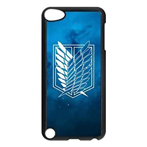 the Case Shop- Customizable Attack On Titan Hard Plastic Case Cover For IPod Touch 5th , p5xq-218