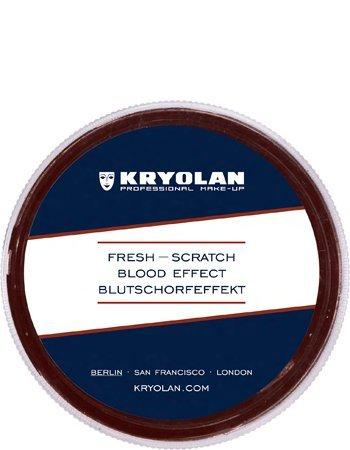 Kryolan 4087 Fresh Scratch 15ml (Dark) Blood Special Effects]()