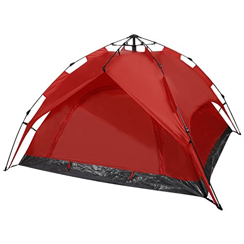 YUEBO Pop Up Tent Easy Set Up Beach Tent Automatic Sun Shelter Backpacking Tent for 2 Person 4 Season with Carry Bag