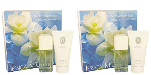 Jessicä McClintóck Gift Set - 3.4 oz Eau De Parfum Spray + 5 oz Body Lotion ()