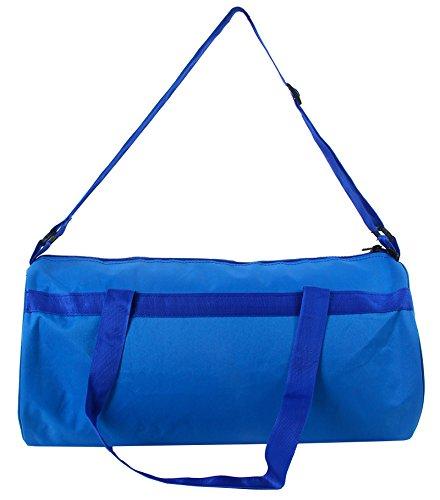 Salute 19 Litros Mochila con cuerdas resistente al agua Viajes gimnasia de los deportes del barril Bolsas Azul marino