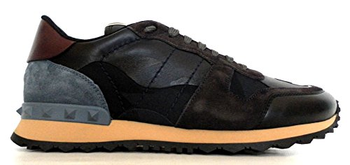 Herren Blu Valentino Mehrfarbig Sneaker Camouflage Garavani Zwqqn57S