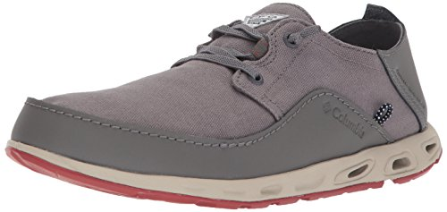 Columbia PFG Men's Bahama Vent Relaxed PFG Boat Shoe City Grey, Gypsy 10