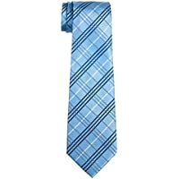 Retreez Tartan Plaid Styles Woven Boy's Tie - 8-10 years - Various Colors