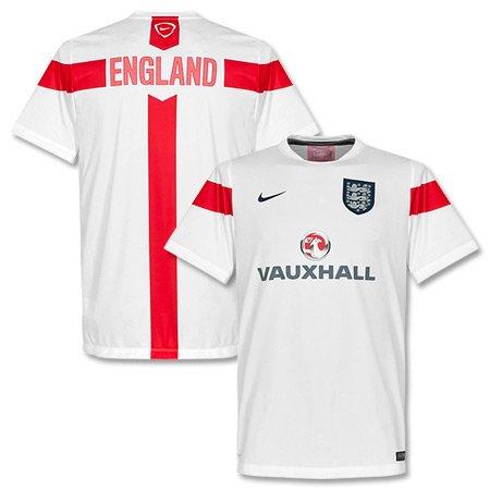 2014-15 England Nike Pre-Match Training Jersey (White) (Pre Training Match Top)