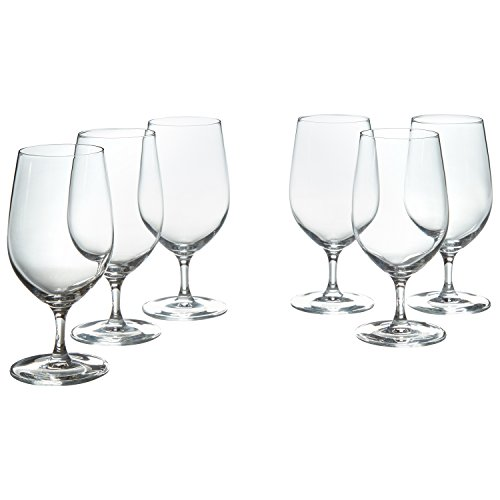 (Stone & Beam Traditional Iced Beverage Wine Glasses, 14-Ounce, Set of 6)