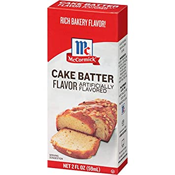 Amazon McCormick Imitation Cake Batter Flavor 2 Fl Oz Pack