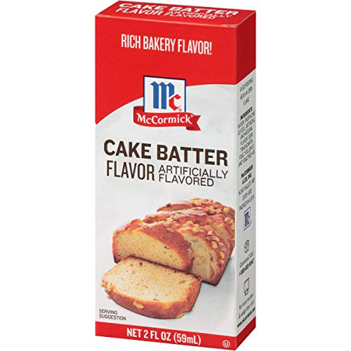 McCormick Imitation Cake Batter Flavor, 2 fl oz (Pack - 1) (Best Cake Batter Ice Cream)